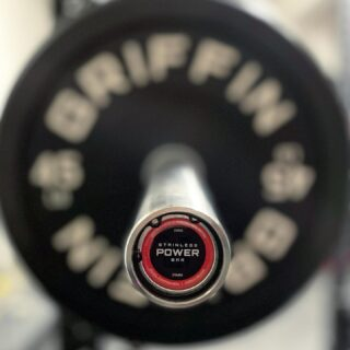 Every day is a chance to be better. May 2021 be your greatest year 🎉  We still have our fully stainless steel power bars in stock for those looking for a barbell with aggressive knurling! Kick off the year hitting those PR's with better grip & a low maintenance bar.  #WeAreGriffin