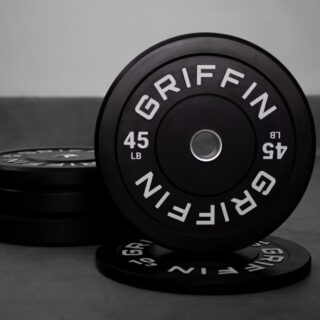 Bumper plates are restocked on the site!  While the competition bumpers sold out in less than 3 minutes, we still have black bumper plates 🔥  #WeAreGriffin