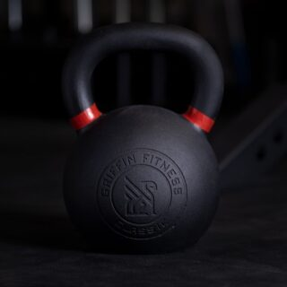"Quote of the day: ""Sometimes we're tested not to show our weaknesses, but to discover our strengths.""  8kg, 28kg, 32kg, and 36kg kettlebells are still in stock 💥 Be sure you're signed up for emails (located at the bottom of our website) too!  #WeAreGriffin"