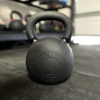 "💥We got some good news: our premium kettlebells are restocked and we've introduced more sets (all thanks to community feedback!).  Live on our site under ""Conditioning""!  Some highlights of our kettlebells:  - Single piece casting - Smooth powder coating finish - Fast and cheap shipping  Tag a friend who needs one!  #WeAreGriffin"