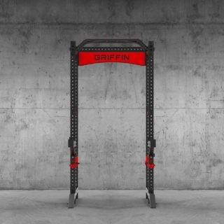 And our new products are live on our site! Get them before they're gone. Say hello to: ✔️ The GR3 Rack ✔️ All-in-one adjustable bench ✔️ Competition flat bench ✔️ Rack attachments like spotter arms, landmine attachment, front foot extensions, ✔️ Parallel landmine handle ✔️ Pull-up bands #WeAreGriffin