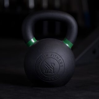 """A dream does not become reality through magic; it takes sweat, determination, and hard work."" - Colin Powell  It's always exciting to see the Griffin community get after it every single day. Switch up your workout with some kettlebell work. You won't regret it—in stock now!  #WeAreGriffin"